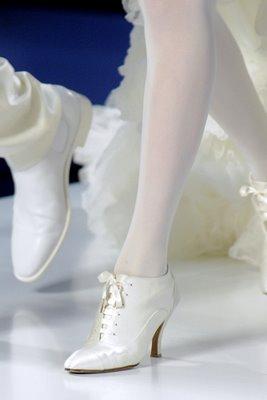 Chanel! Nos pés um sonho de sapato